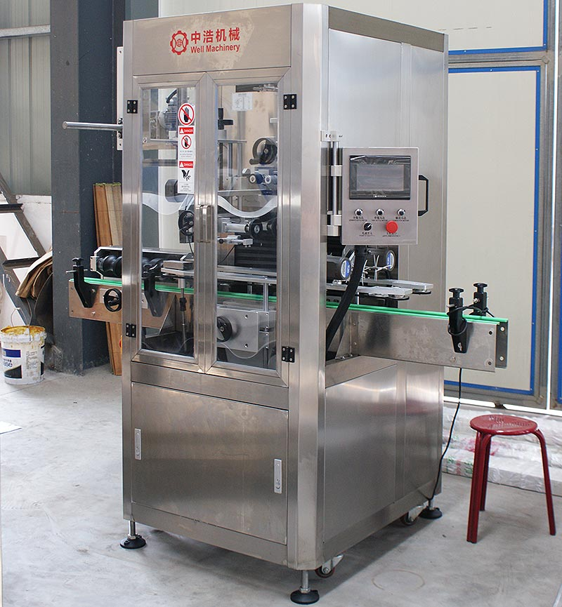 automatic-9000BPH-sleeve-labeling-machine