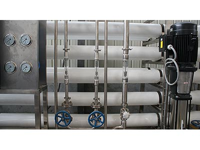 Small RO Beverage Blending Water Treatment Machine