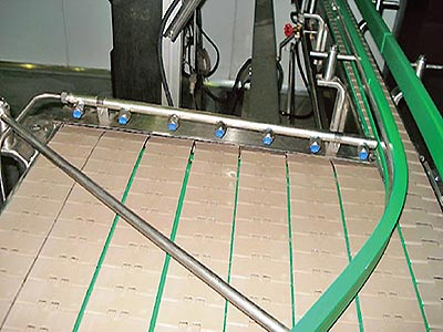 Filled Bottle Conveyor System