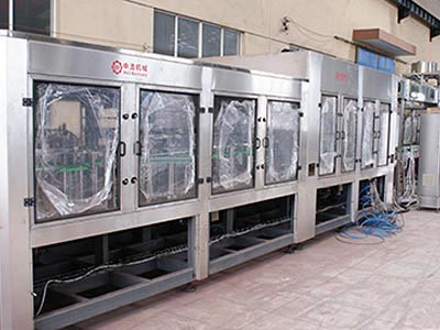 PET Bottle Pulp Five in one Juice Filling Machine