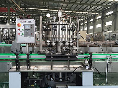 Separated Type Canned Carbonated Drink Filling Machine
