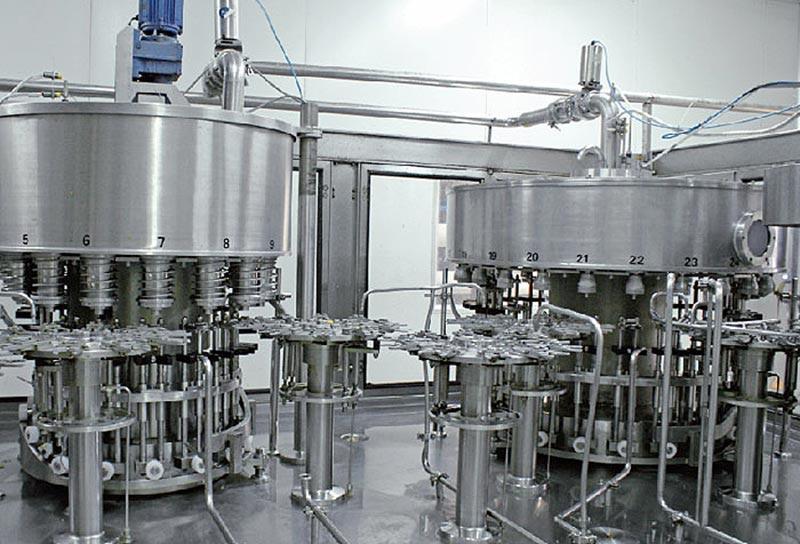 particle-beverage-filling-machine