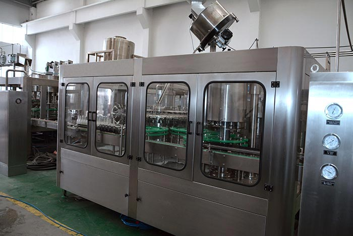steam-beverage-filling-machine