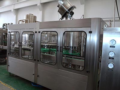 Automatic Beer Filling Production Line