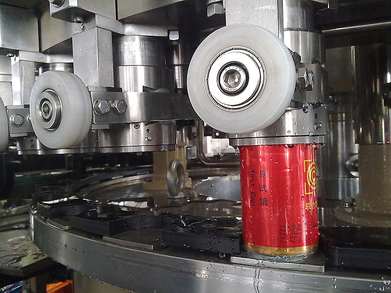 Carbonated Drink Can Filling and Sealing Machine