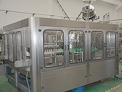 Glass-Bottle-Juice-Filling-Machine
