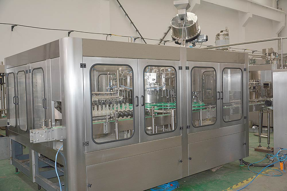 Glass-Bottle-Juice-Filling-Machine