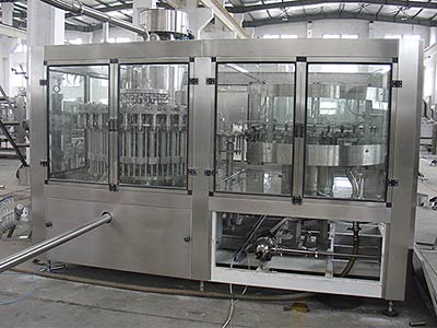 Fully Automatic 12000bph Beverage Juice Filling Machine