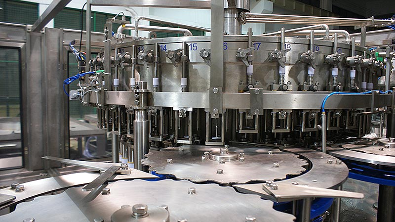 steam beverage filling machine
