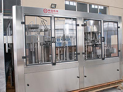 Drinking Water 3 in 1 Filling Equipment