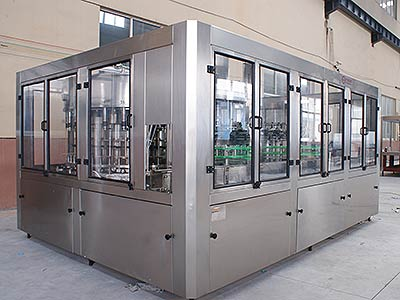 Plastic Bottle Rotary Filling Monobla Machine