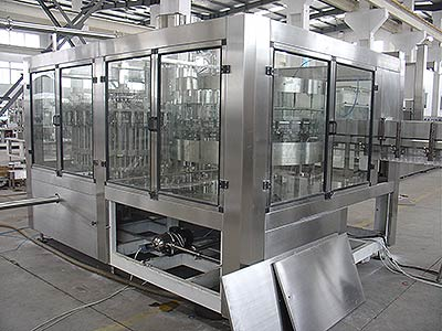Small Bottle Fruit Juice Hot Filling Equipment