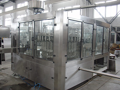 Tea Drink Hot Filling Machine