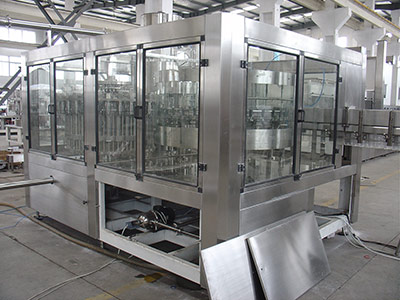 Tea Hot Bottling Filling Machine