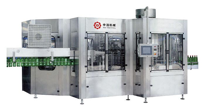 Automatic Beverage Filling Production Line